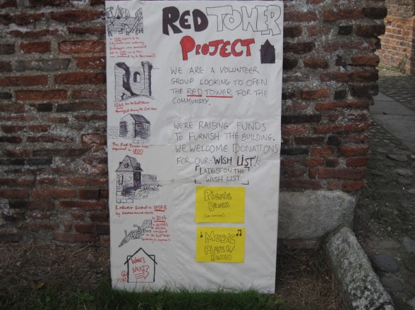 Red Tower board